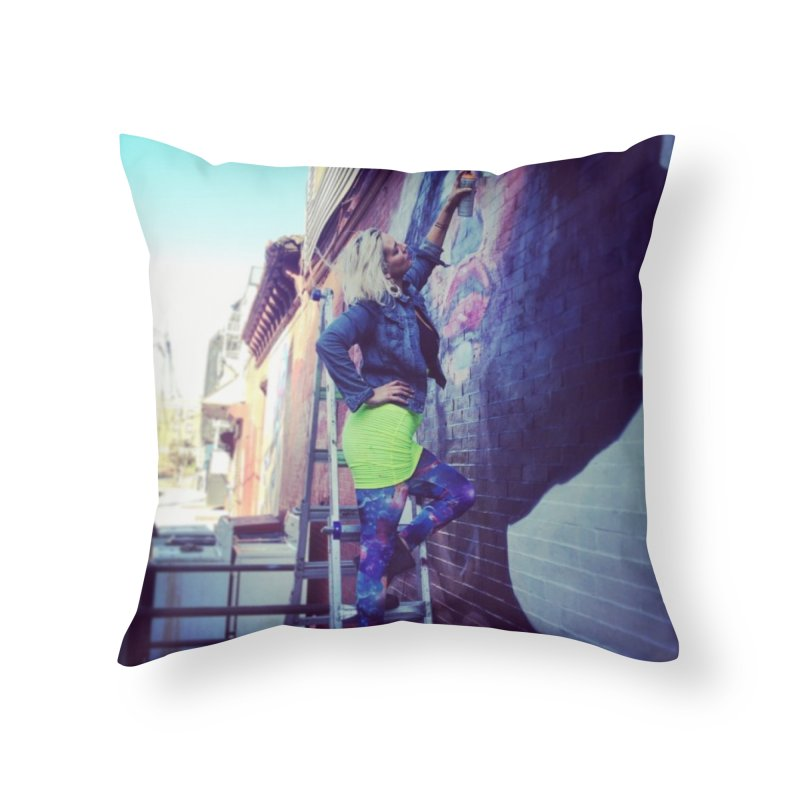 Lexi Bella on Dodworth Home Throw Pillow by lexibella's Artist Shop