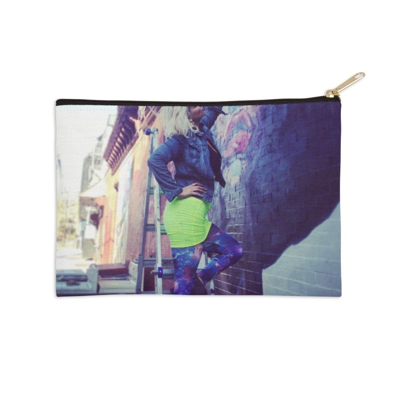 Lexi Bella on Dodworth Accessories Zip Pouch by lexibella's Artist Shop