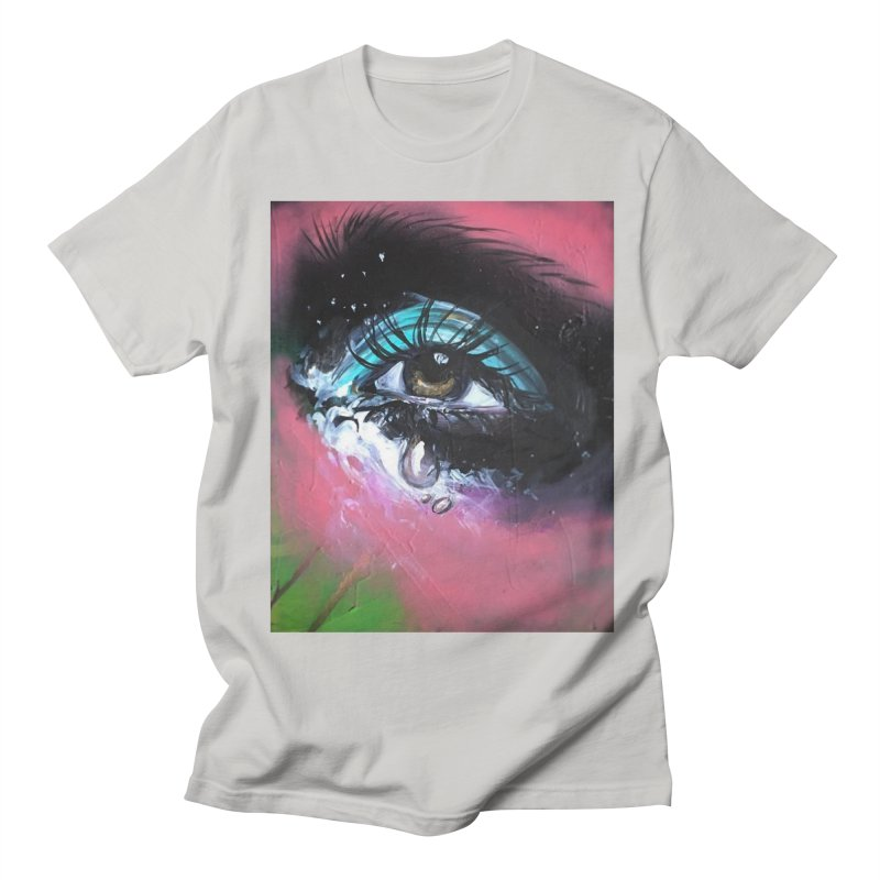 TearDrop Men's Regular T-Shirt by lexibella's Artist Shop