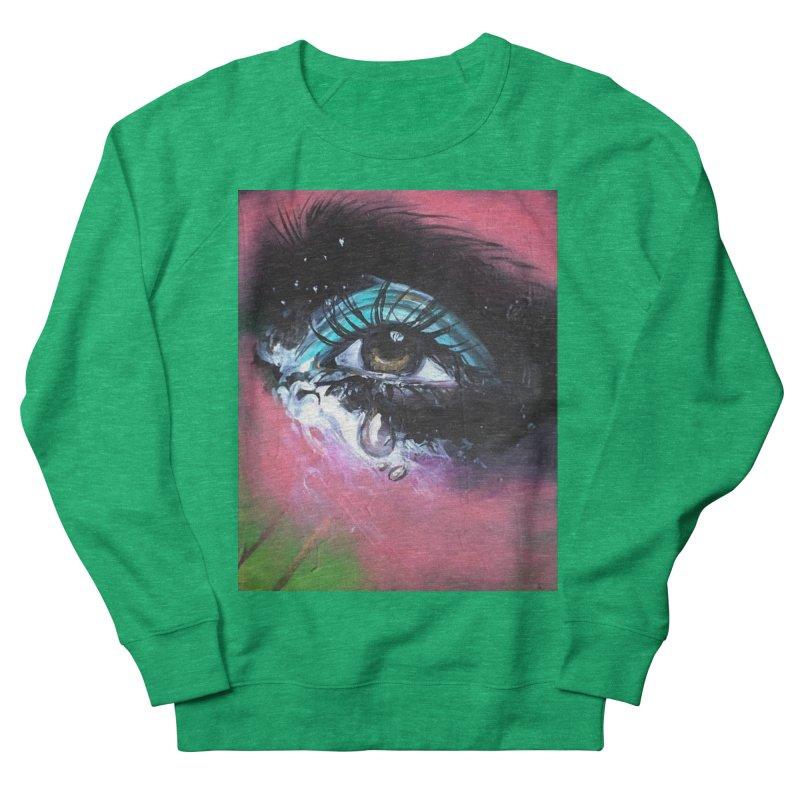 TearDrop Women's French Terry Sweatshirt by lexibella's Artist Shop
