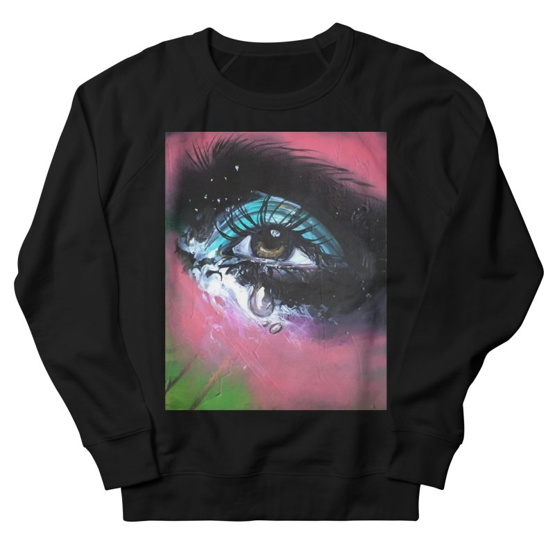 TearDrop Men's French Terry Sweatshirt by lexibella's Artist Shop