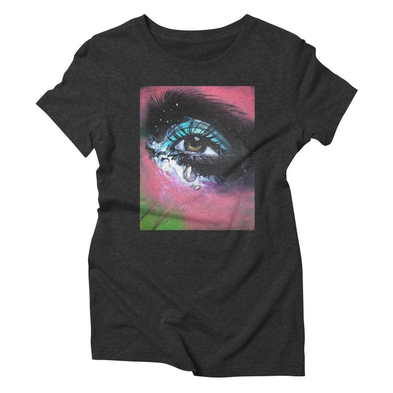 TearDrop Women's Triblend T-Shirt by lexibella's Artist Shop