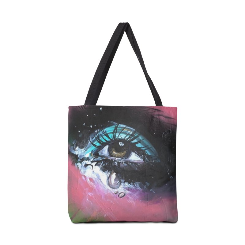 TearDrop Accessories Tote Bag Bag by lexibella's Artist Shop