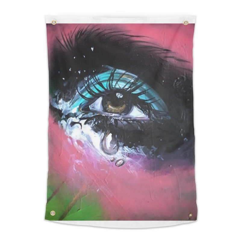 TearDrop Home Tapestry by lexibella's Artist Shop