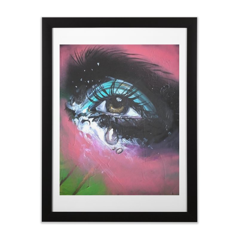 TearDrop Home Framed Fine Art Print by lexibella's Artist Shop