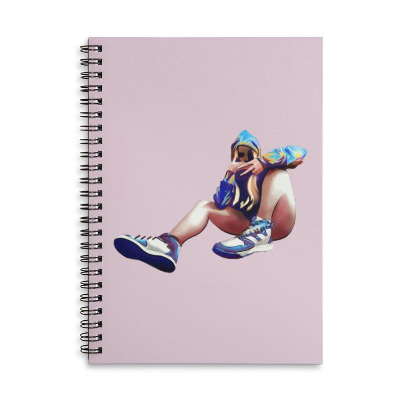 Lexiicutie - Portrait Accessories Lined Spiral Notebook by lexiicutie