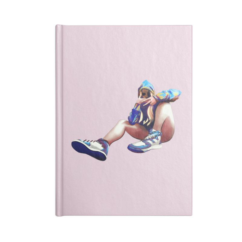 Lexiicutie - Portrait Accessories Blank Journal Notebook by lexiicutie