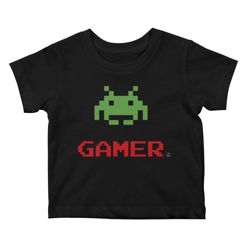 Gamer Kids Baby T-Shirt by La Fàbrica dels Somnis / Dissenys
