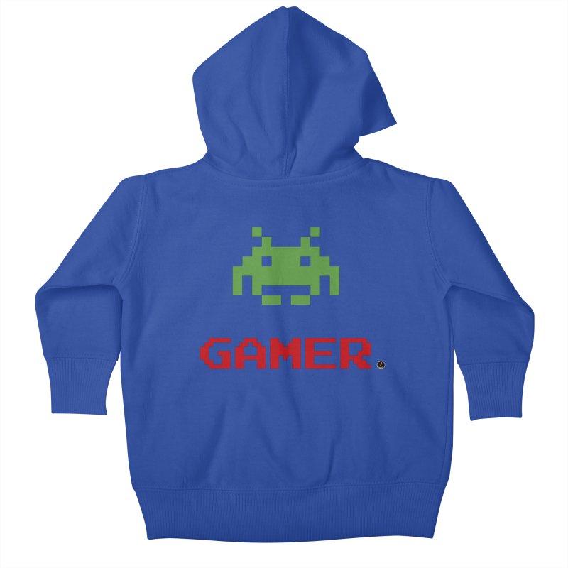 Gamer Kids Baby Zip-Up Hoody by La Fàbrica dels Somnis / Dissenys