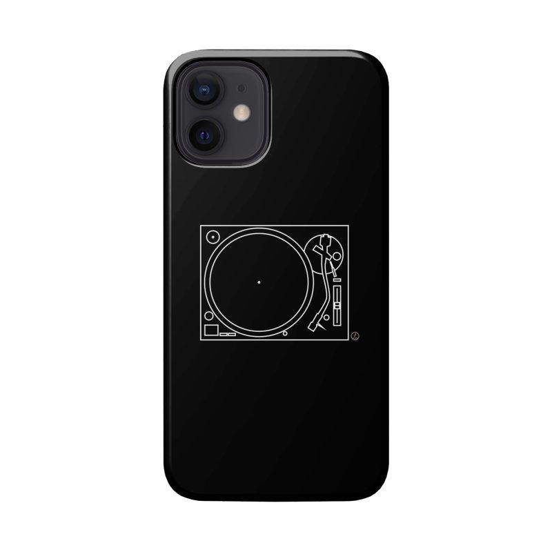 Turntablism Accessories Phone Case by La Fàbrica dels Somnis / Dissenys