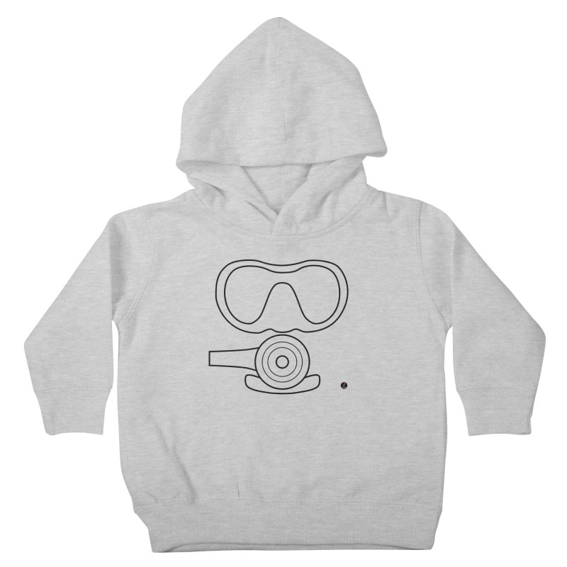 Diving Kids Toddler Pullover Hoody by La Fàbrica dels Somnis / Dissenys