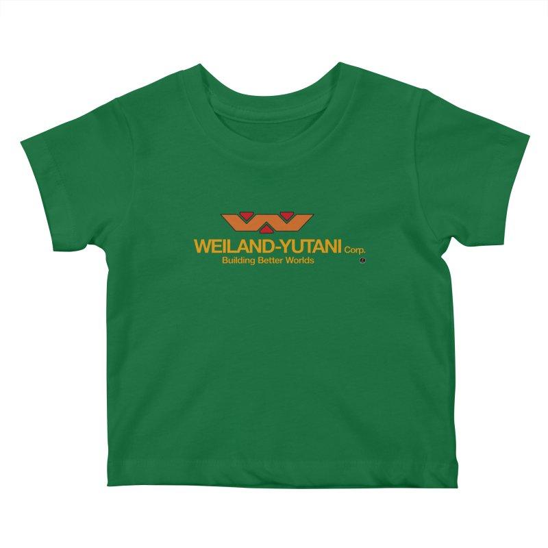 Weiland - Yutani Corp. Kids Baby T-Shirt by La Fàbrica dels Somnis / Dissenys