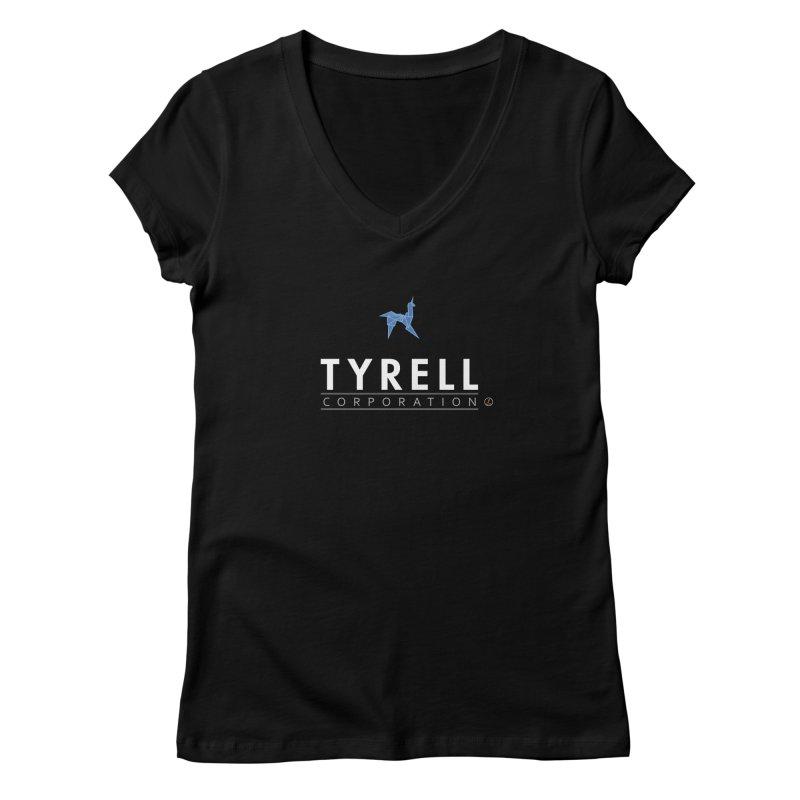 Tyrell Women's V-Neck by La Fàbrica dels Somnis / Dissenys