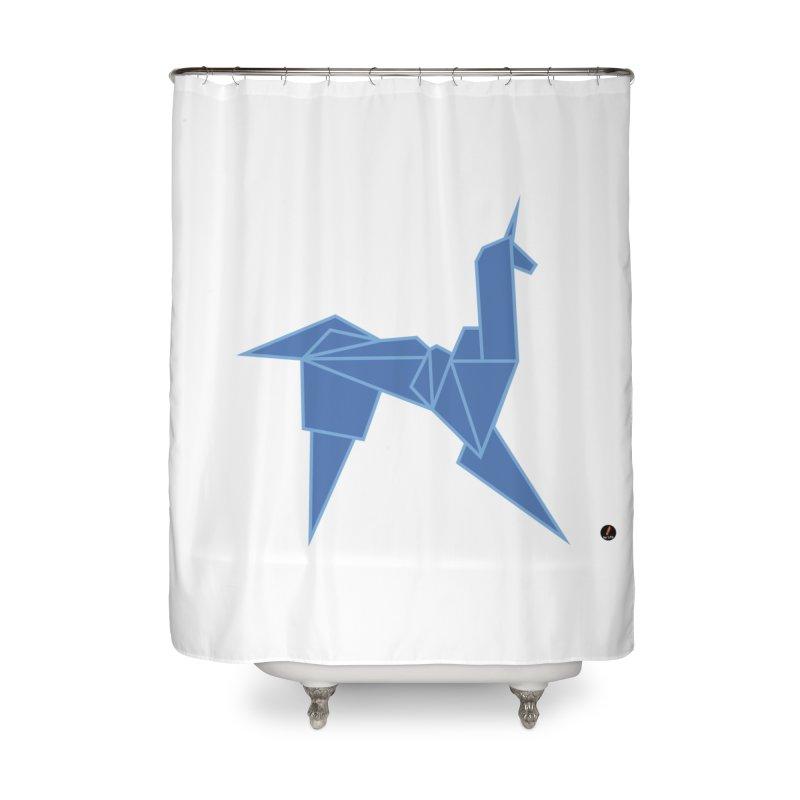 Unicorn Home Shower Curtain by La Fàbrica dels Somnis / Dissenys