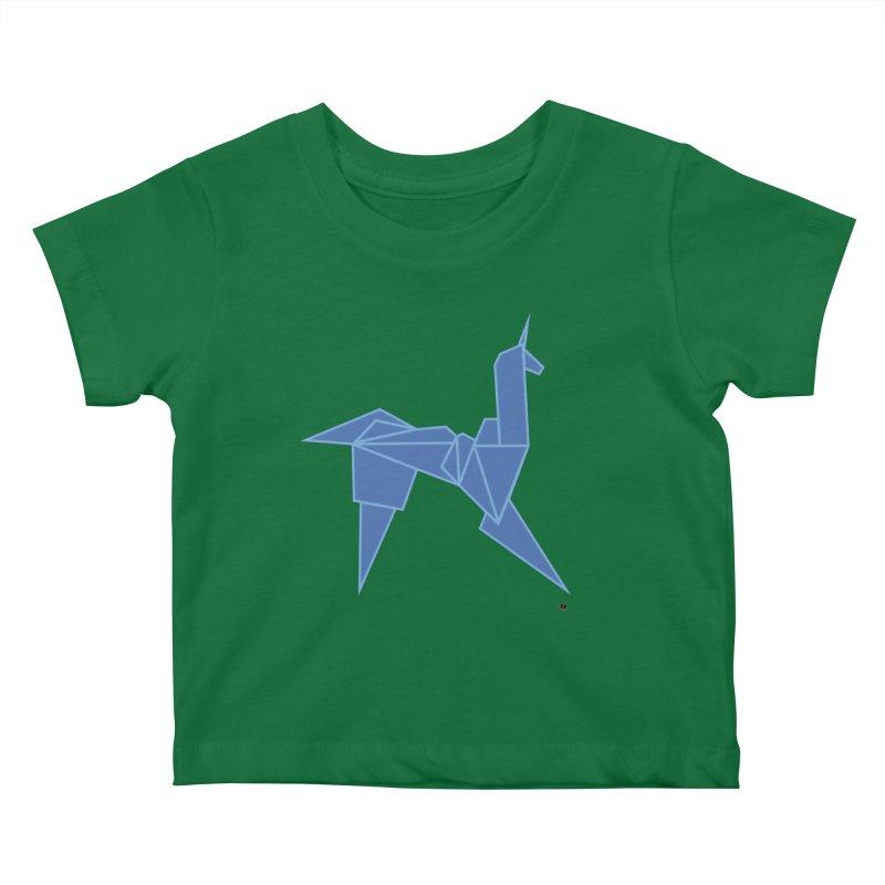 Unicorn Kids Baby T-Shirt by La Fàbrica dels Somnis / Dissenys