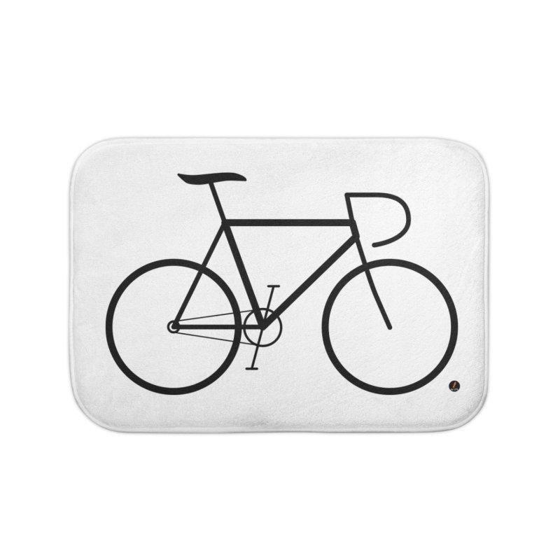 Cycle Home Bath Mat by La Fàbrica dels Somnis / Dissenys