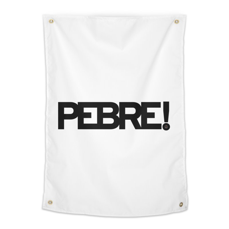 Pebre! Home Tapestry by La Fàbrica dels Somnis / Dissenys