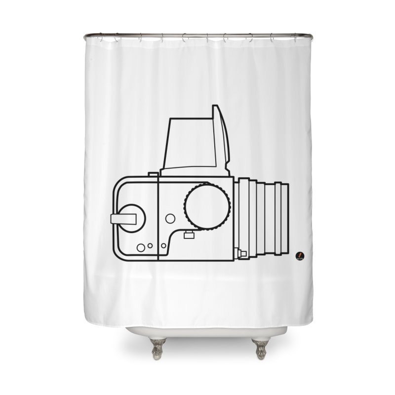 Classic photographer Home Shower Curtain by La Fàbrica dels Somnis / Dissenys