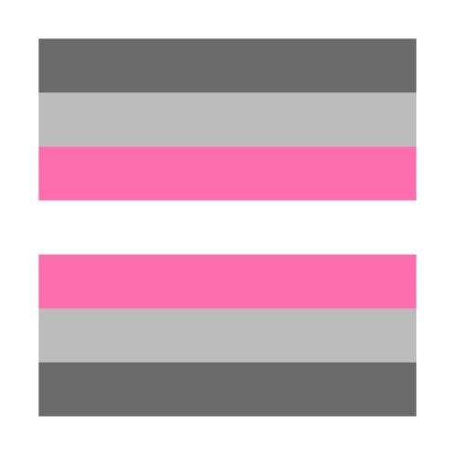 Design for Demigirl Flag
