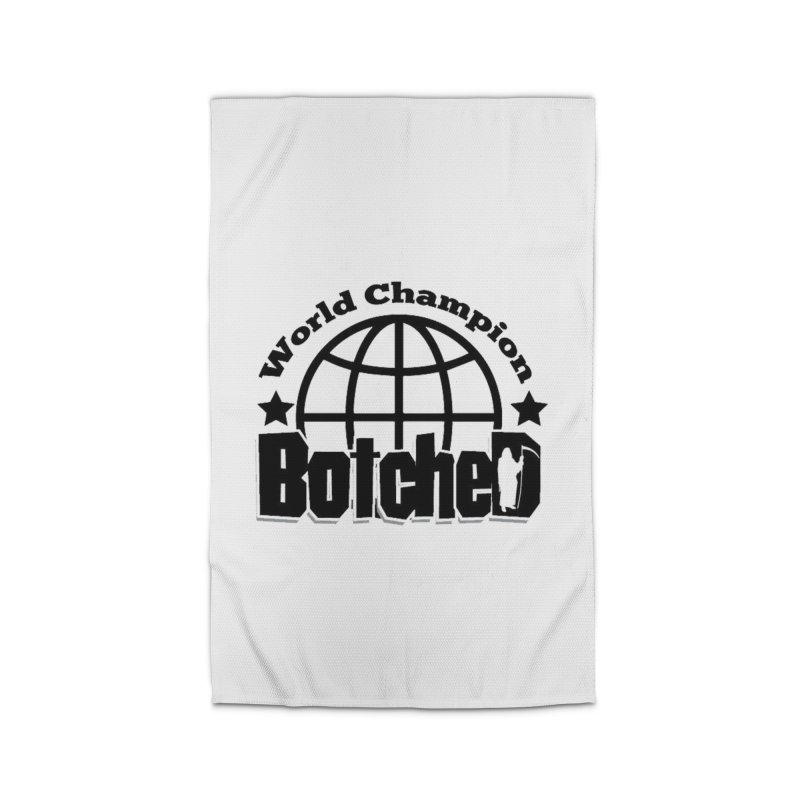 "Botched ""World Champ"" Home Rug by lgda's Artist Shop"