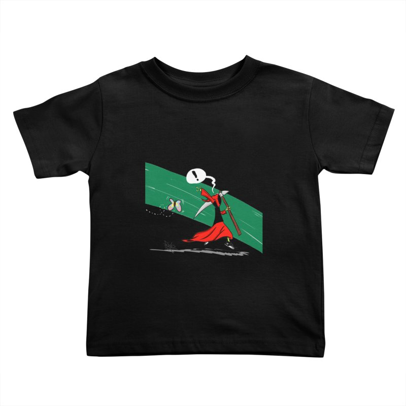 Deathbag Kids Toddler T-Shirt by lgda's Artist Shop