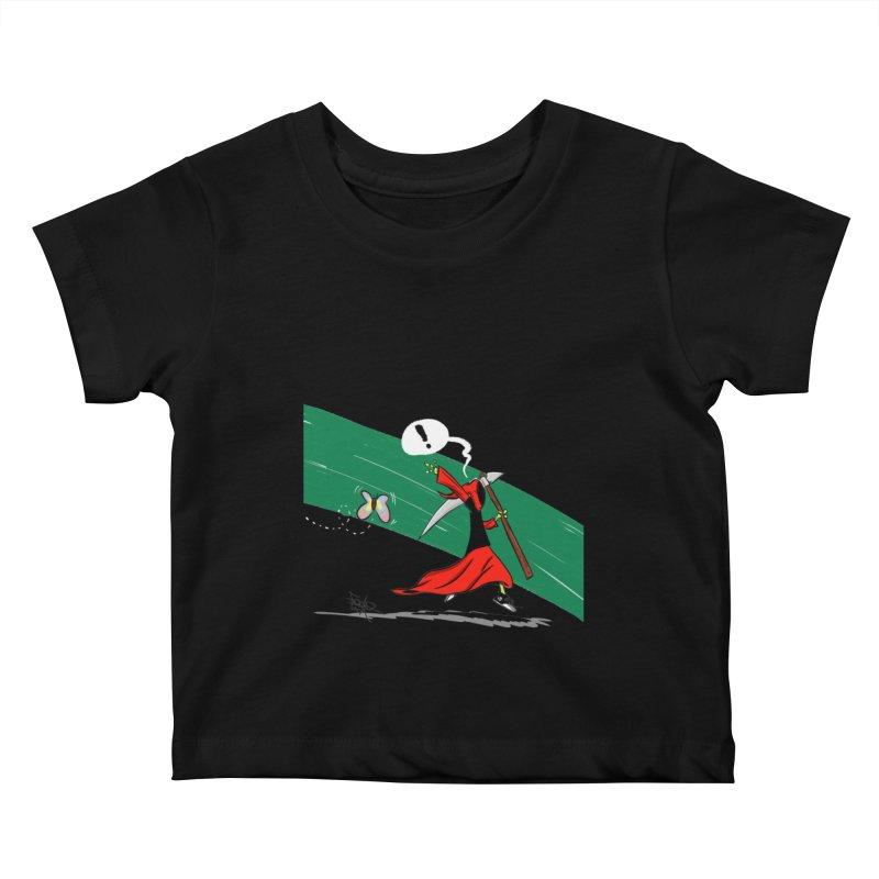 Deathbag Kids Baby T-Shirt by lgda's Artist Shop