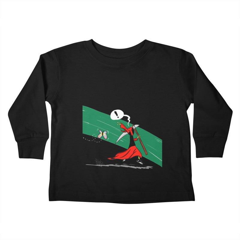 Deathbag Kids Toddler Longsleeve T-Shirt by lgda's Artist Shop
