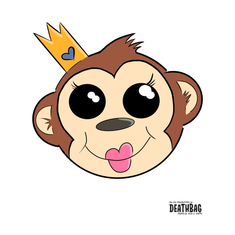My Pretty Princess Monkey by lgda's Artist Shop