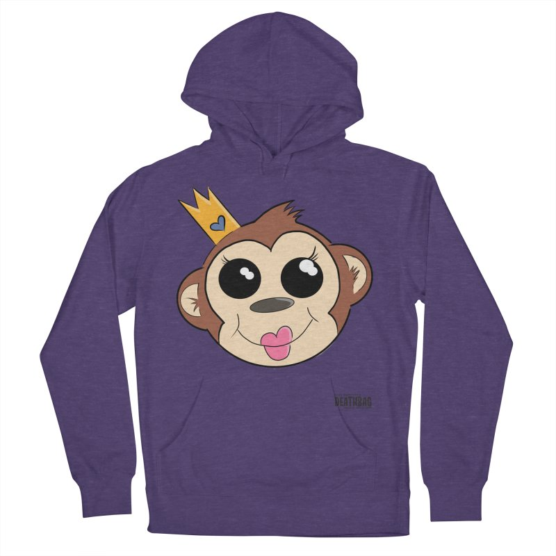 My Pretty Princess Monkey Men's French Terry Pullover Hoody by lgda's Artist Shop