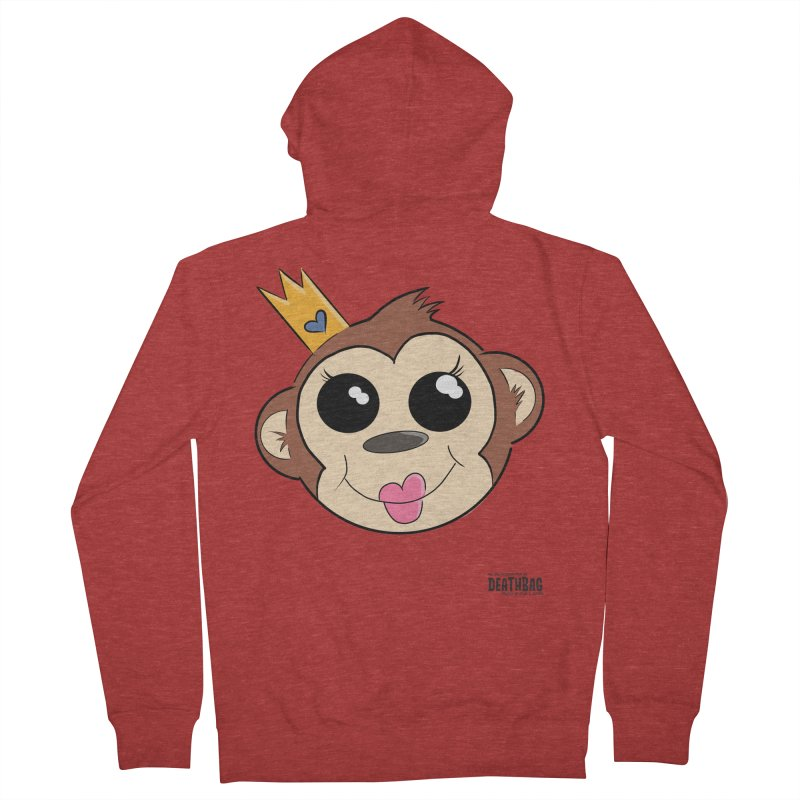 My Pretty Princess Monkey Women's French Terry Zip-Up Hoody by lgda's Artist Shop