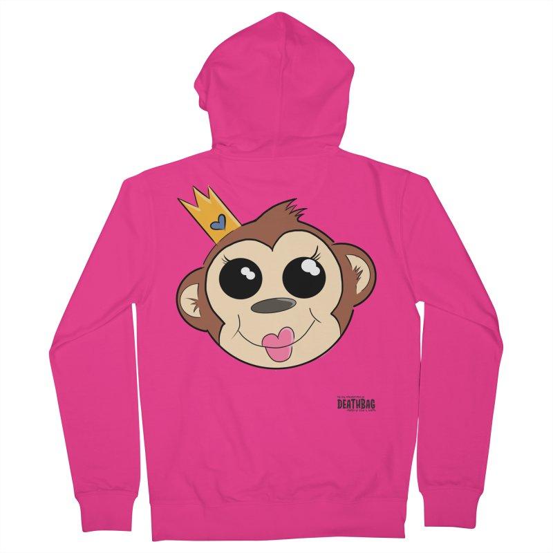 My Pretty Princess Monkey Men's French Terry Zip-Up Hoody by lgda's Artist Shop