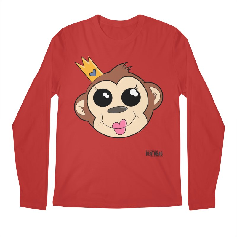 My Pretty Princess Monkey Men's Regular Longsleeve T-Shirt by lgda's Artist Shop