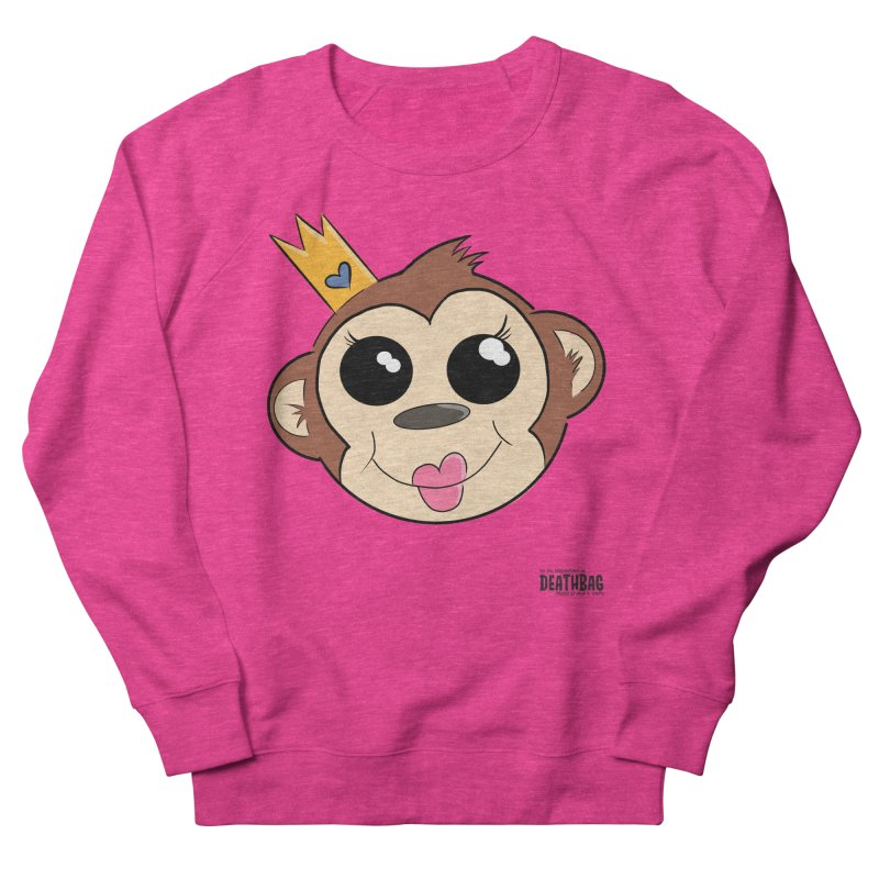 My Pretty Princess Monkey Women's French Terry Sweatshirt by lgda's Artist Shop