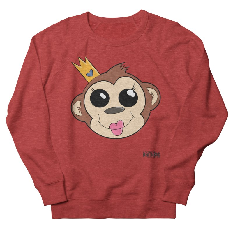 My Pretty Princess Monkey Men's French Terry Sweatshirt by lgda's Artist Shop