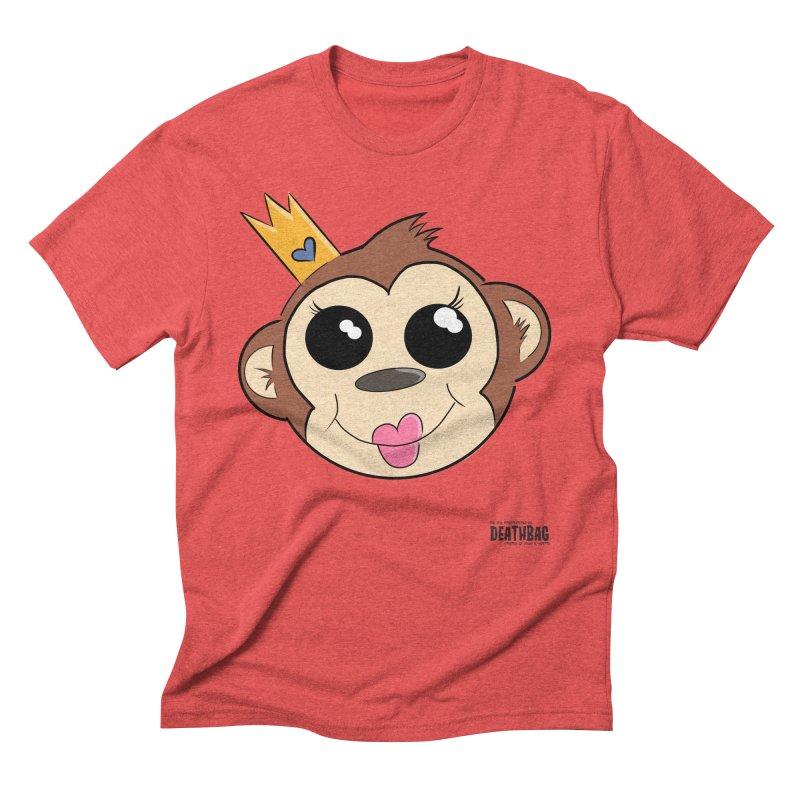 My Pretty Princess Monkey Men's Triblend T-Shirt by lgda's Artist Shop