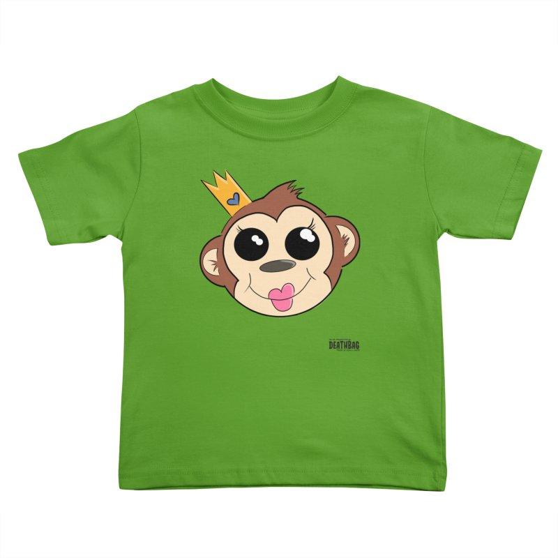 My Pretty Princess Monkey Kids Toddler T-Shirt by lgda's Artist Shop