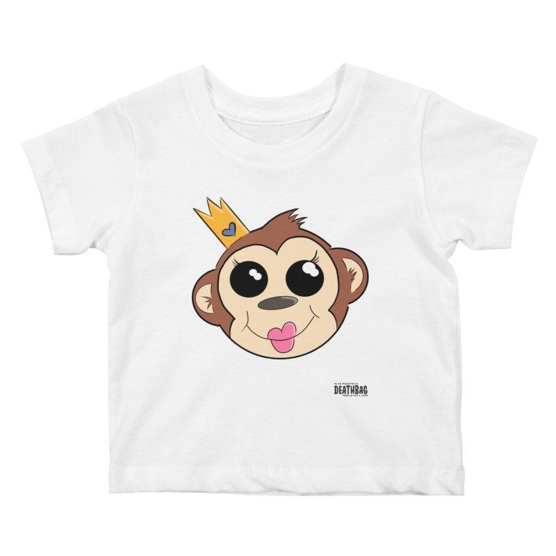 My Pretty Princess Monkey Kids Baby T-Shirt by lgda's Artist Shop