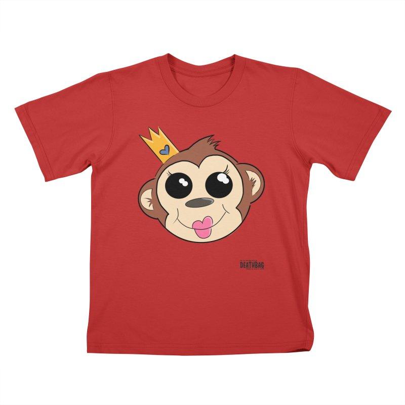 My Pretty Princess Monkey Kids T-Shirt by lgda's Artist Shop