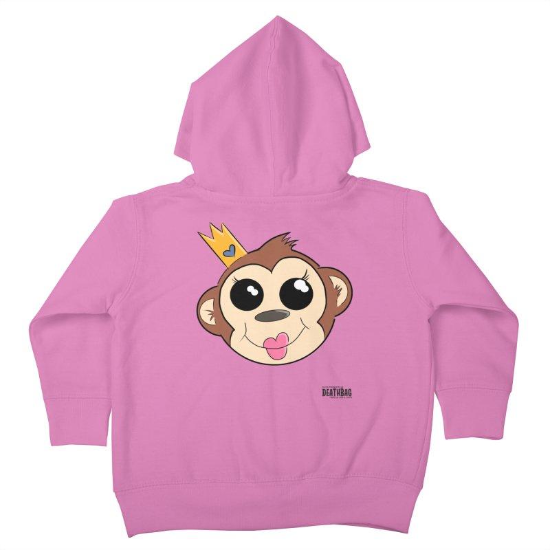 My Pretty Princess Monkey Kids Toddler Zip-Up Hoody by lgda's Artist Shop