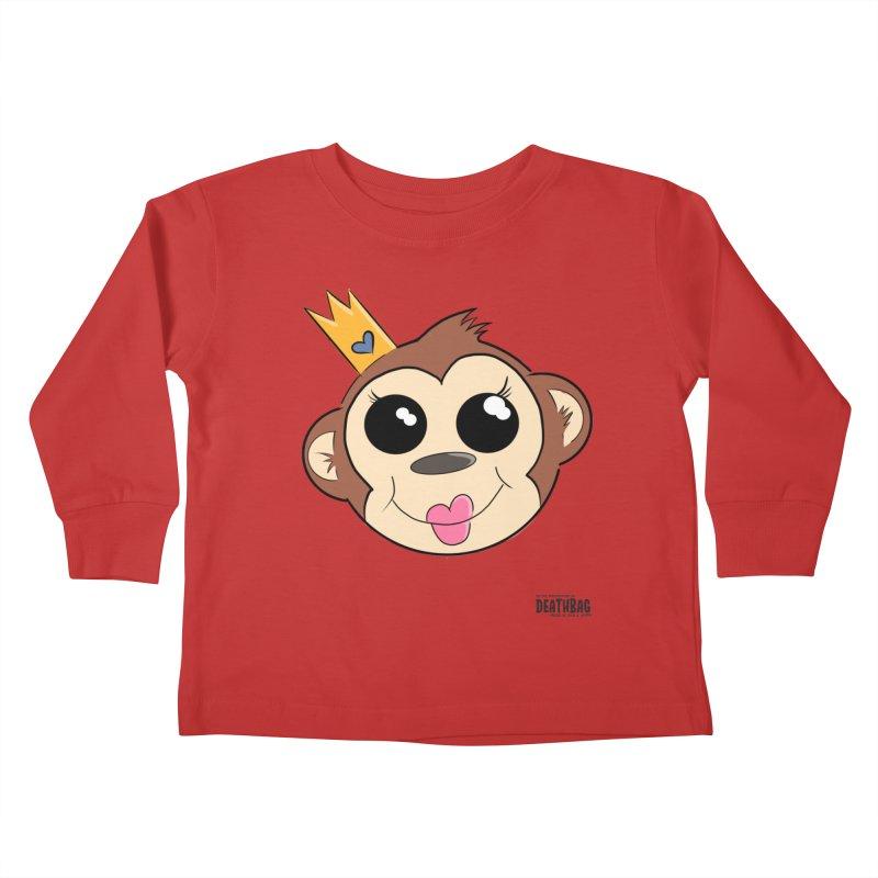 My Pretty Princess Monkey Kids Toddler Longsleeve T-Shirt by lgda's Artist Shop