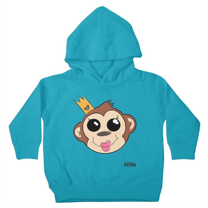 My Pretty Princess Monkey Kids Toddler Pullover Hoody by lgda's Artist Shop