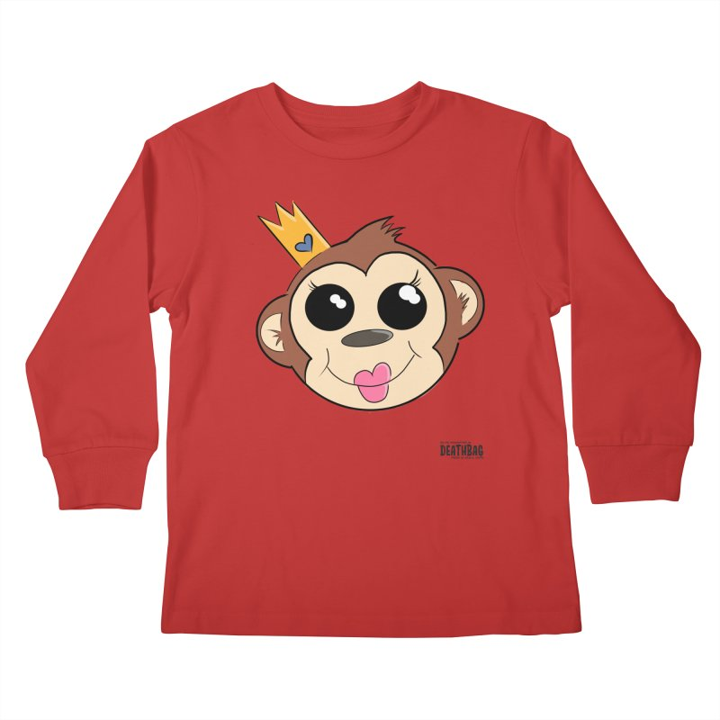 My Pretty Princess Monkey Kids Longsleeve T-Shirt by lgda's Artist Shop