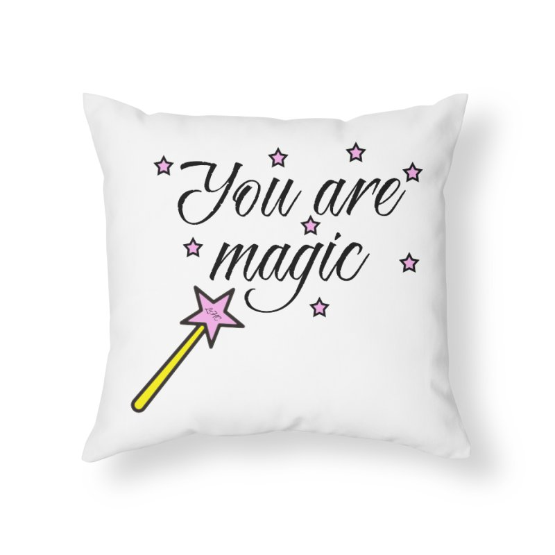 Magic Home Throw Pillow by lhcosway's Artist Shop
