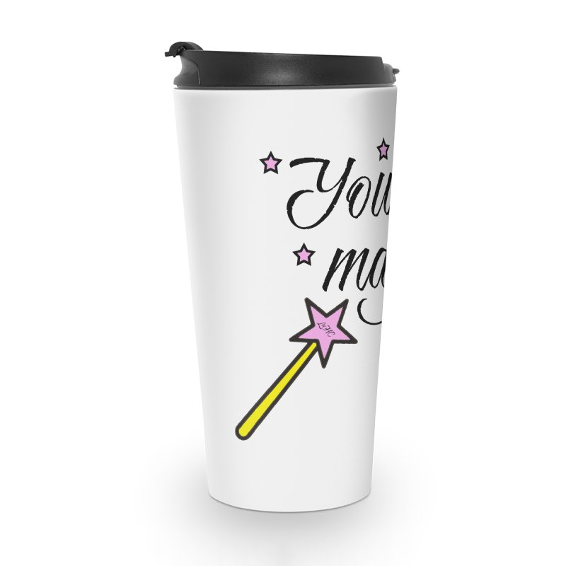 Magic Accessories Travel Mug by lhcosway's Artist Shop