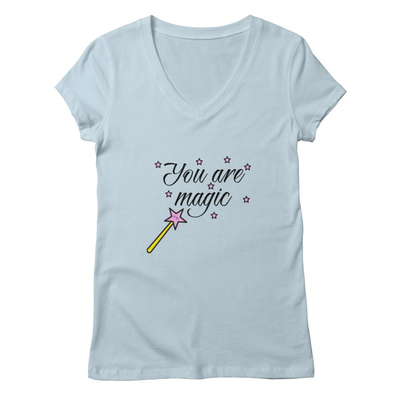 Magic Women's V-Neck by lhcosway's Artist Shop