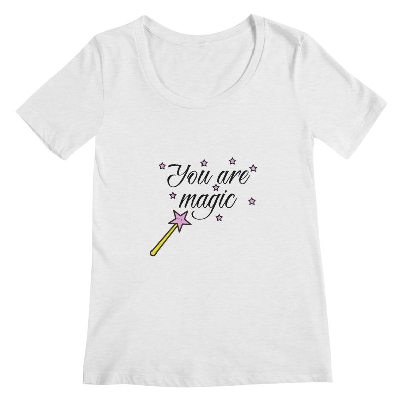 Magic Women's Regular Scoop Neck by lhcosway's Artist Shop