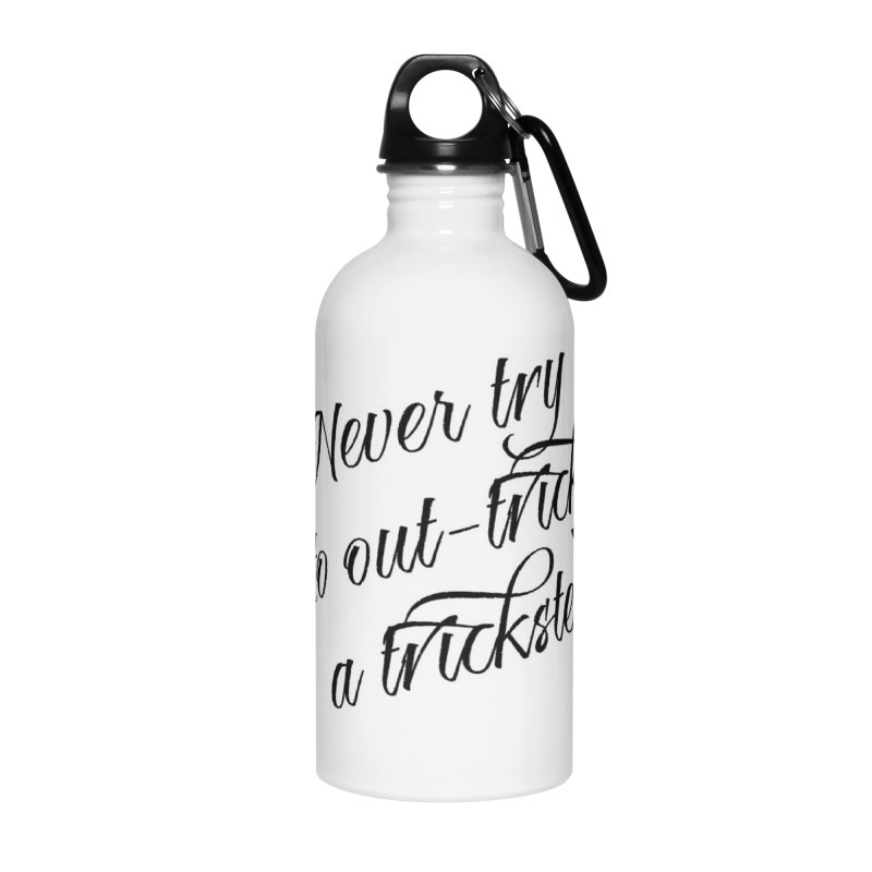 Six of Hearts Quote Accessories Water Bottle by lhcosway's Artist Shop