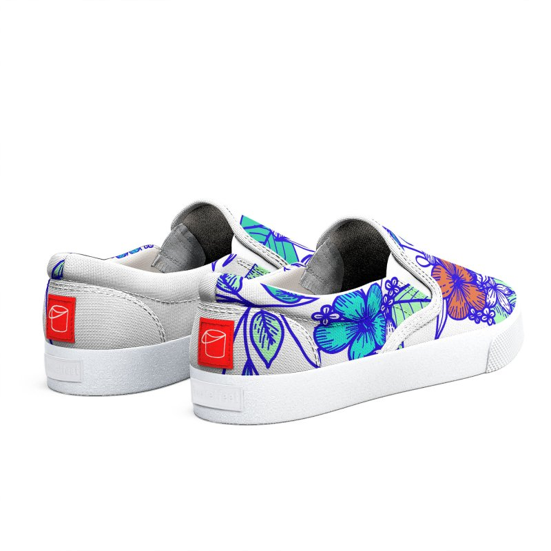 Tropical Flowers Women's Shoes by libedlulo