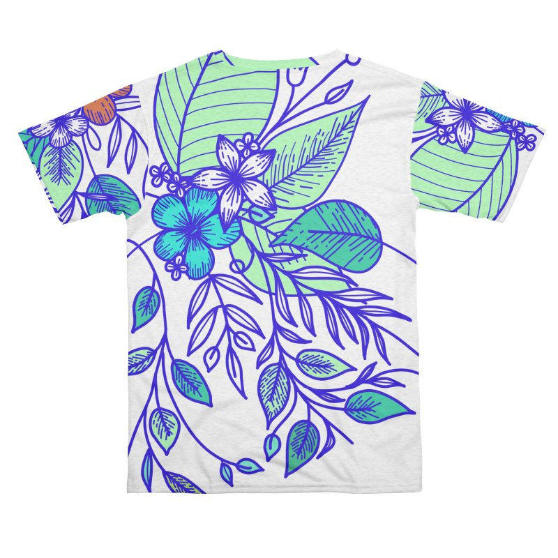 Tropical Flowers Men's Cut & Sew by libedlulo