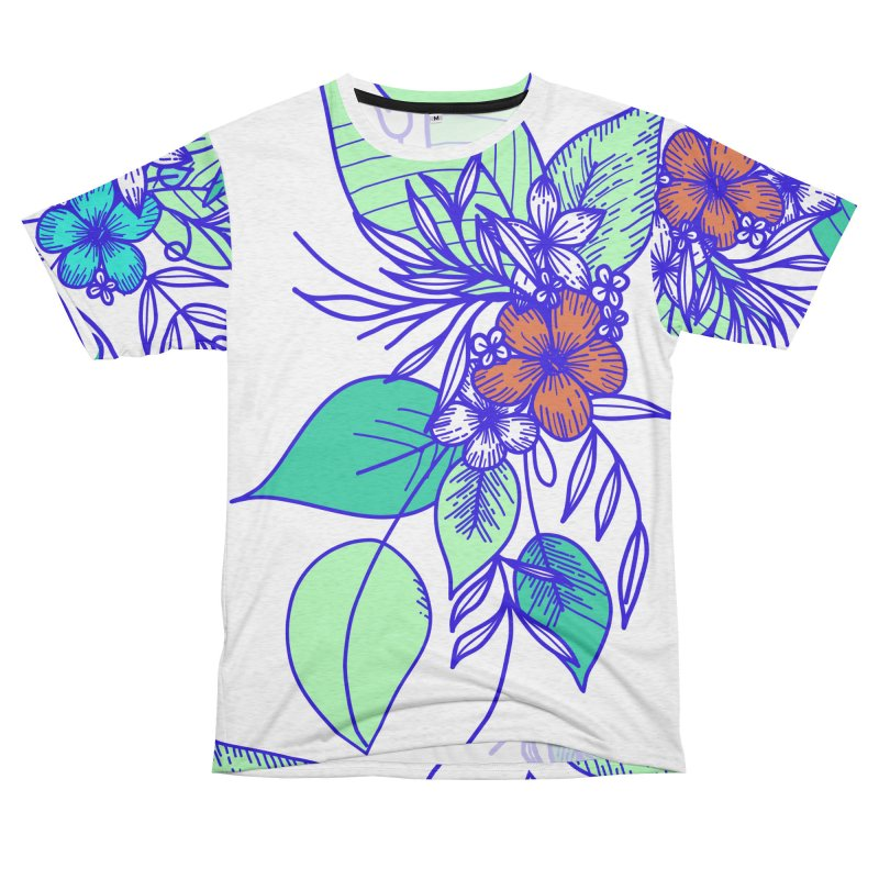 Tropical Flowers Women's Cut & Sew by libedlulo